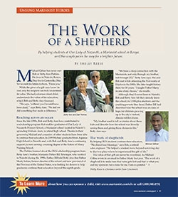 The Work of a Shepherd